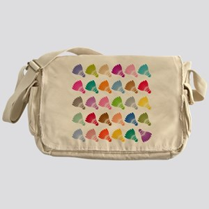 Colorful BadmintonShuttles Messenger Bag