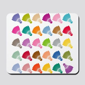 Colorful BadmintonShuttles Mousepad