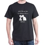 Christmas Wife Dark T-Shirt