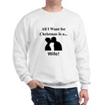 Christmas Wife Sweatshirt