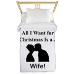 Christmas Wife Twin Duvet