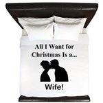 Christmas Wife King Duvet