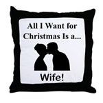 Christmas Wife Throw Pillow