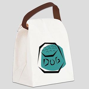 Dog Dish Canvas Lunch Bag