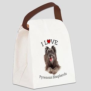 Pyrenean Sheph Canvas Lunch Bag