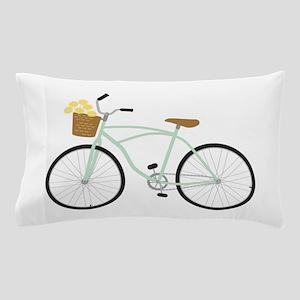 Bicycle Flower Basket Pillow Case