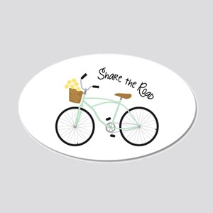 Share The Road Wall Decal