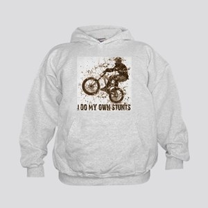 Mountain Bike, BMX - Stunts Kids Hoodie