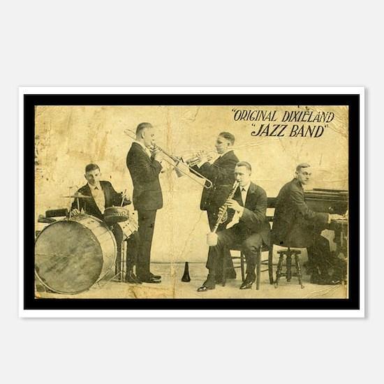 Original Dixieland Jazz Band Postcards (8 cards)