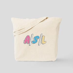 Cute A/S/L Internet Tote Bag