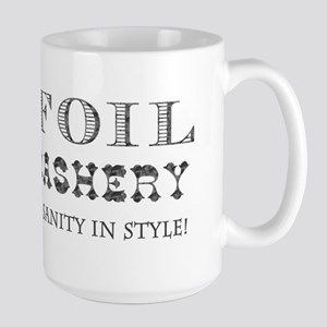 Tin Foil Haberdashery Large Mug