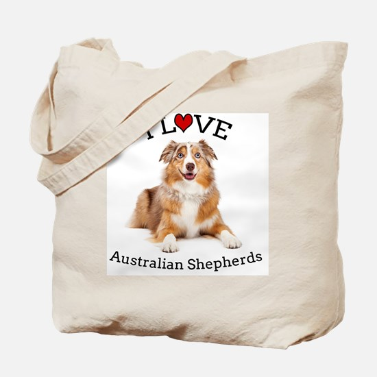 I love Aussies Tote Bag