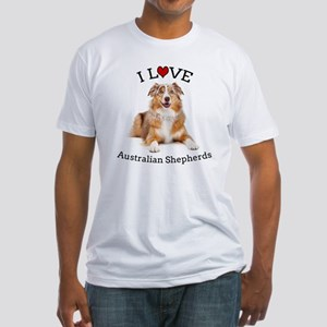 I love Aussies Fitted T-Shirt