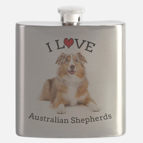 I love Aussies Flask