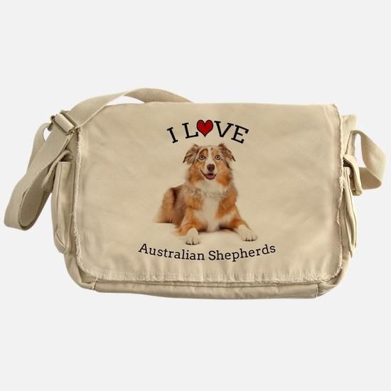 I love Aussies Messenger Bag