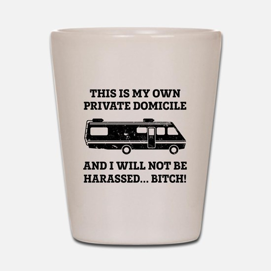 Funny Breaking Bad Shot Glass