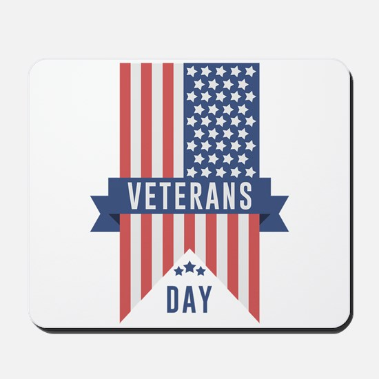 Veterans Day Commemorative Design Mousepad