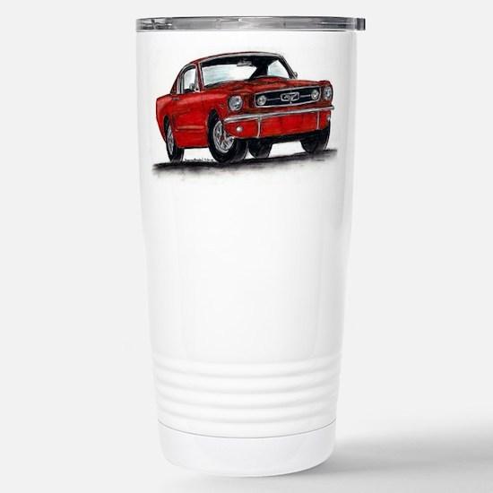 Ford Mustang Stainless Steel Travel Mug