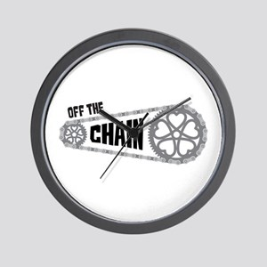 Off The Chain Wall Clock
