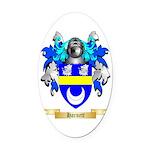 Harnett Oval Car Magnet