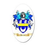 Harnet 20x12 Oval Wall Decal