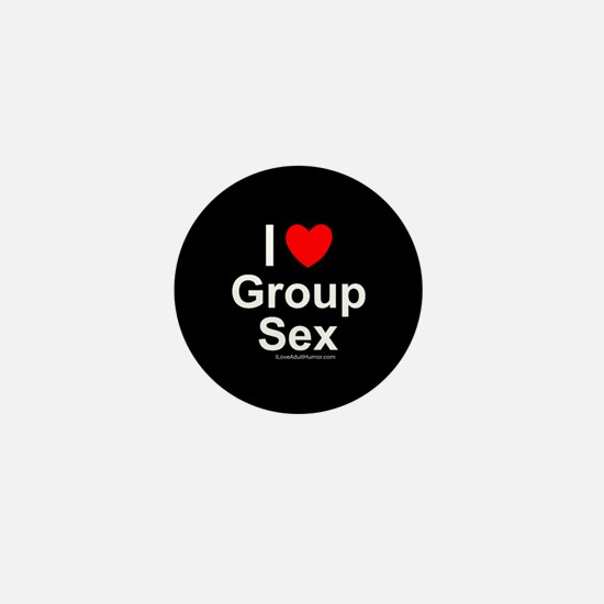 Group Sex Mini Button