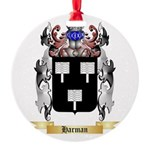 Harman Round Ornament