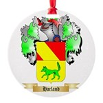 Harland Round Ornament