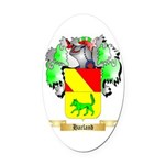 Harland Oval Car Magnet