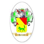 Harland Sticker (Oval 50 pk)