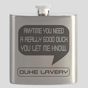 Duke Lavery Good Buck Flask