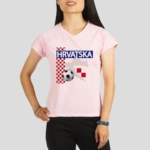 Hrvatska Croatia Futbol Performance Dry T-Shirt