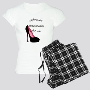 Attitude determines altitud Women's Light Pajamas