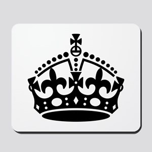Keep Calm Crown Mousepad