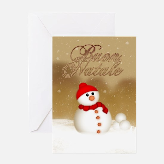 Italian Christmas Card - Buon Greeting Cards