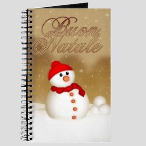 Italian Christmas Card - Buon Natale Journal