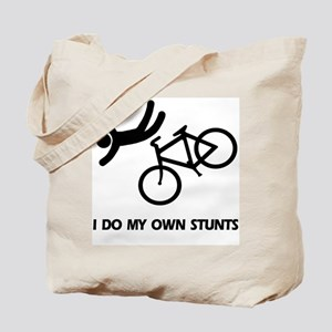 Bike, Bike, Funny Bike Stunts  Tote Bag