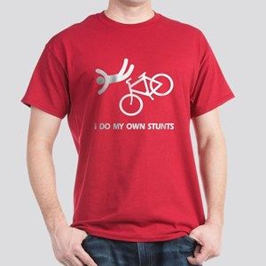 Bike, bike, funny biker stunt Dark T-Shirt