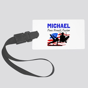 GYMNASTICS CHAMP Large Luggage Tag