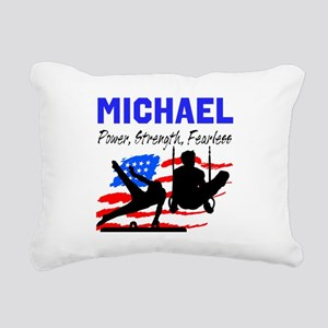 GYMNASTICS CHAMP Rectangular Canvas Pillow