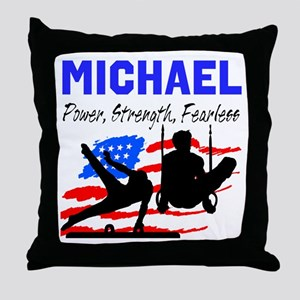 GYMNASTICS CHAMP Throw Pillow