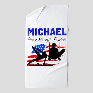 GYMNASTICS CHAMP Beach Towel