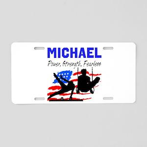GYMNASTICS CHAMP Aluminum License Plate