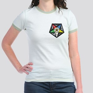 OES Star on a pillow Jr. Ringer T-Shirt