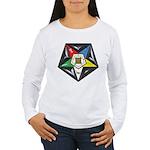 OES Star on a pillow Women's Long Sleeve T-Shirt