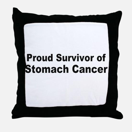 stomach4.jpg Throw Pillow