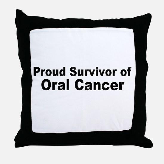 oral4.jpg Throw Pillow