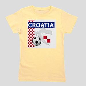 croatia-futballC Girl's Tee