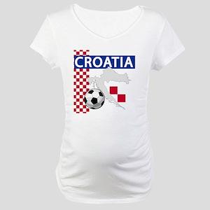 croatia-futballC Maternity T-Shirt