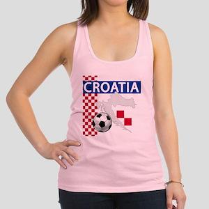 croatia-futballC Racerback Tank Top